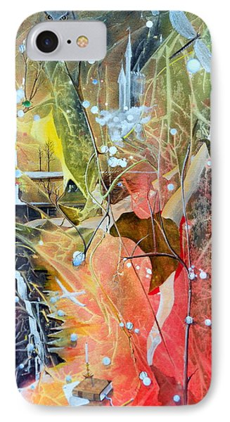 IPhone Case featuring the painting Dreamscape Of Aaralyn by Jackie Mueller-Jones