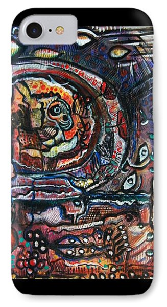Dreamsequence No. 2 - Monster In A Bubble IPhone Case by Mimulux patricia no No