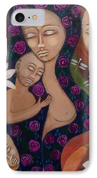 Dreamtime Communion Phone Case by Havi Mandell
