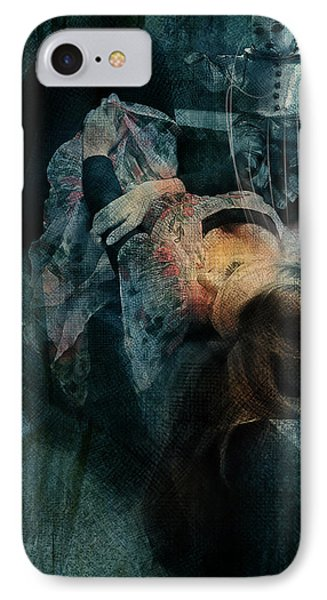 IPhone Case featuring the digital art Dreamweaver Urban Fantasy by Galen Valle