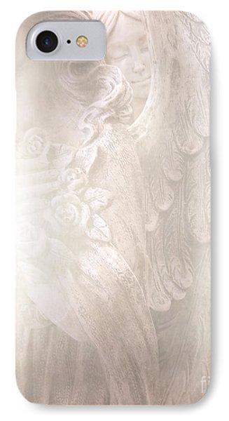 Dreamy Angel Art - Ethereal Spiritual Dream Angel Wings - Heavenly Angel Wings IPhone Case