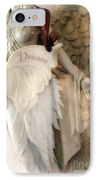 Dreamy Angel Art Photography - Ethereal Spiritual Dream Angel Wings - Inspirational Angel Art IPhone Case