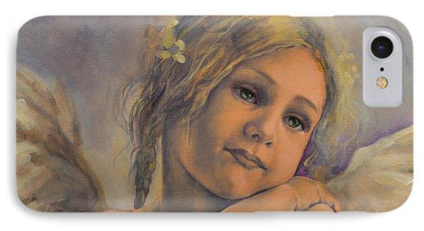 Dreamy Angel Phone Case by Dorina  Costras