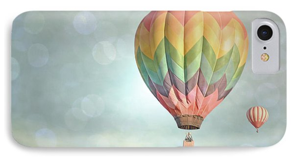 Dreamy Balloon Pair Sky IPhone Case by Andrea Hazel Ihlefeld