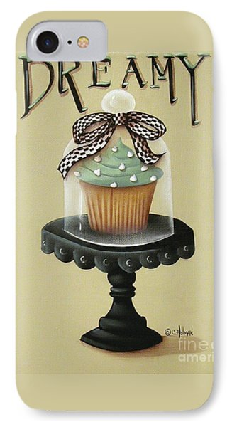 Dreamy Cupcake Phone Case by Catherine Holman