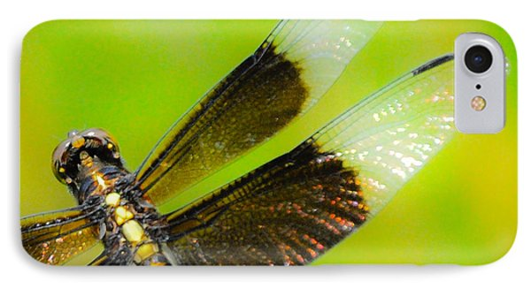 Dreamy Dragonfly IPhone Case by Cheryl McClure