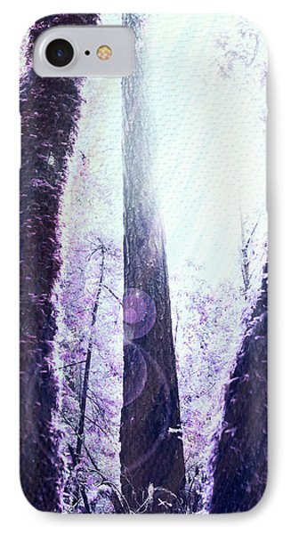 Dreamy Forest Phone Case by Nicole Swanger