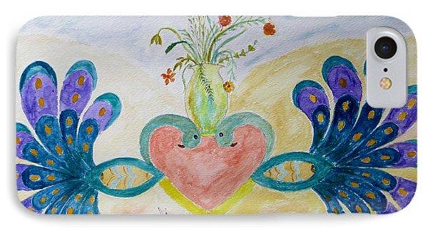 Dreamy Heart Phone Case by Sonali Gangane