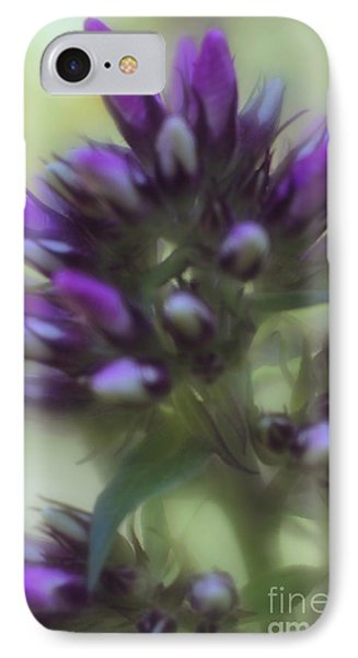 IPhone Case featuring the photograph Dreamy Lavendar Buds by Mary Lou Chmura