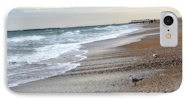 Dreamy Ocean Beach North Carolina Coastal Beach  Phone Case by Kathy Fornal