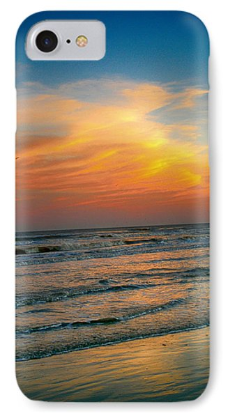 Dreamy Texas Sunset Phone Case by Kristina Deane