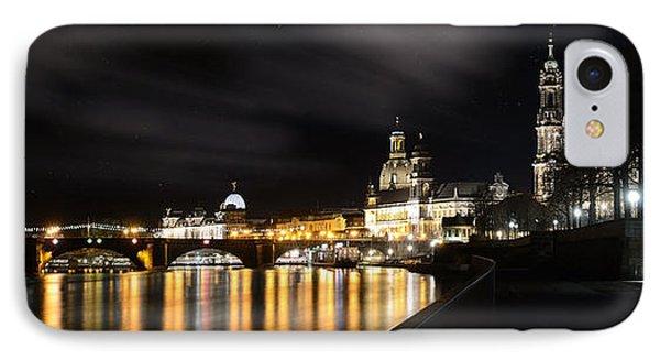 Dresden At Night Phone Case by Steffen Gierok