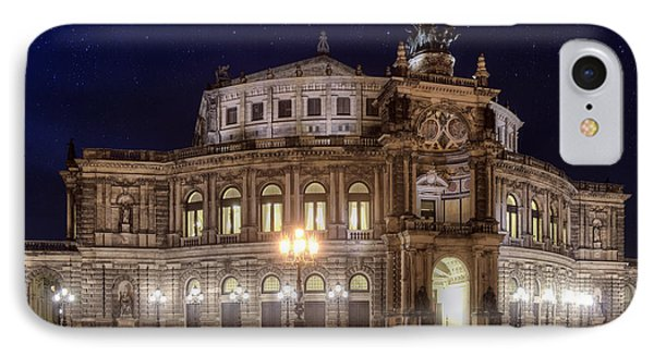 Dresden Semperopera Phone Case by Steffen Gierok