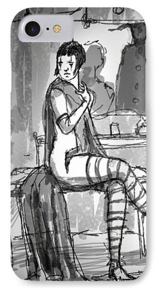 Dressing Room IPhone Case by H James Hoff