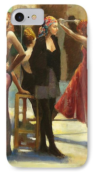 Dressing Room Phone Case by Podi Lawrence