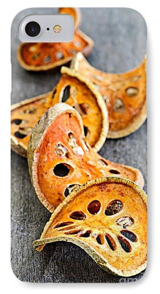 Dried Bael Fruit Phone Case by Elena Elisseeva