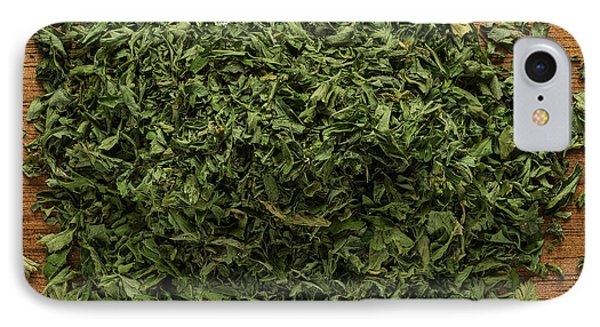 Dried Parsley IPhone Case by Steve Gadomski