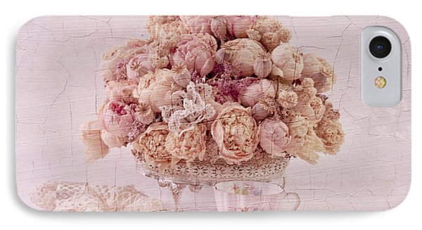IPhone Case featuring the photograph Dried Peony Still Life by Sandra Foster
