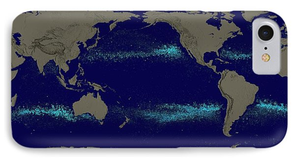 Drifting Ocean Garbage IPhone Case by Nasa's Scientific Visualization Studio