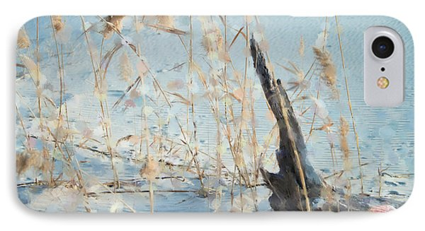 Driftwood Abstract Phone Case by Betty LaRue