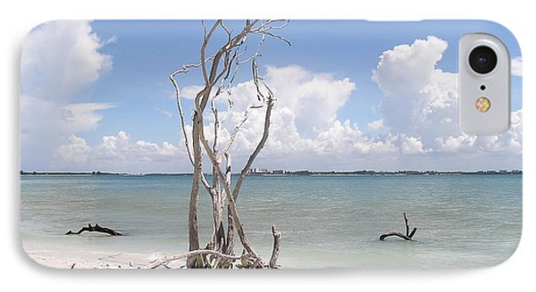 IPhone Case featuring the photograph Driftwood by Carol  Bradley