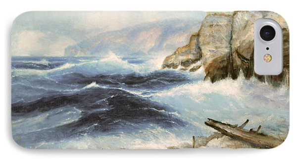 Driftwood Cliffs IPhone Case by Richard Hinger