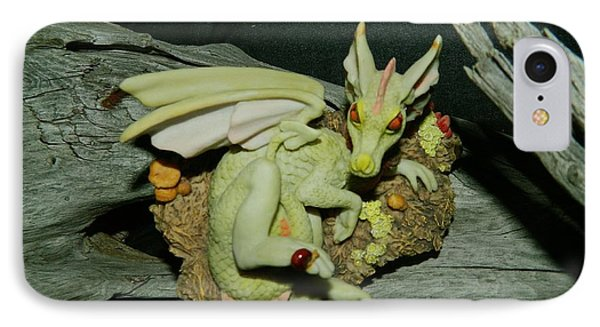 Driftwood Dragon IPhone Case by Randy Rosenberger