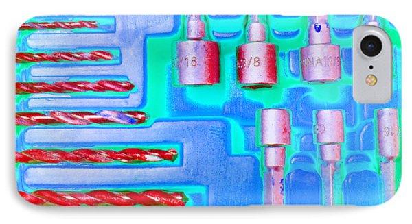 Drill Bits E IPhone Case
