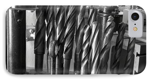 Drill Bits Phone Case by Steven Ralser