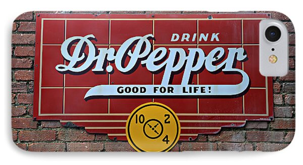Drink Dr. Pepper - Good For Life IPhone Case by Stephen Stookey