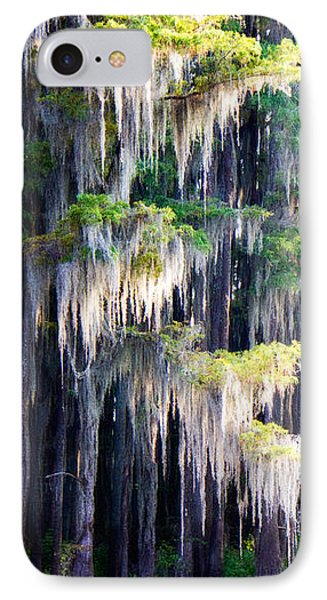 Dripping Moss IPhone Case by Lana Trussell