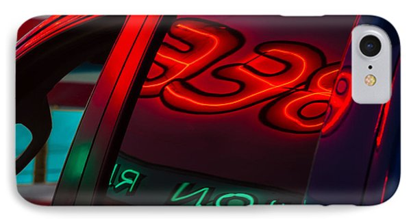 Drive In Diner IPhone Case by Joan Herwig