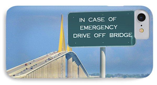 Drive Off Bridge IPhone Case