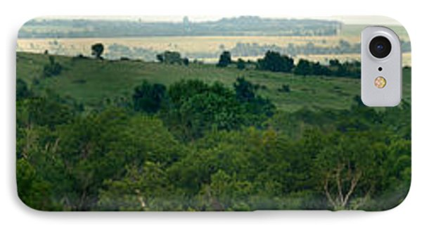 IPhone Case featuring the photograph Drive The Flint Hills by Brian Duram
