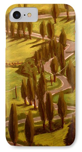 Drive Through Italy IPhone Case by Joseph Hawkins
