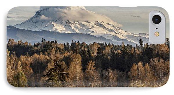 Drive'n Round Mt Rainier IPhone Case