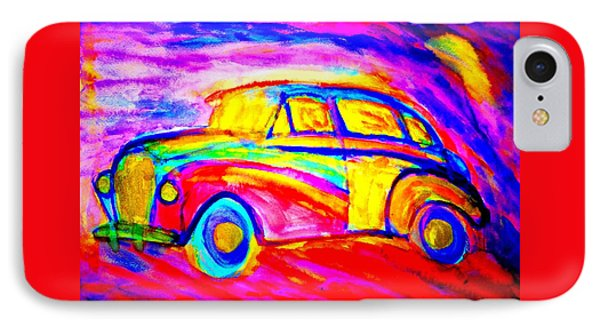 Driving Home Late At Night    IPhone Case by Hilde Widerberg