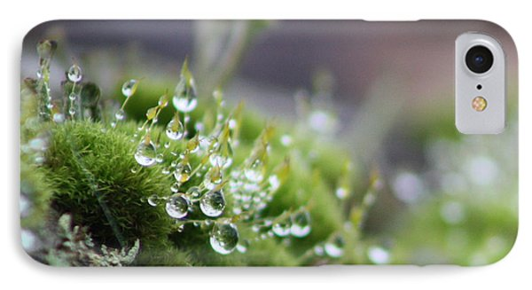 IPhone Case featuring the photograph Droplets by Cathie Douglas