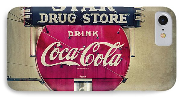 Drug Store Neon Phone Case by Perry Webster