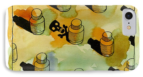 Drugs IPhone Case by Leon Zernitsky