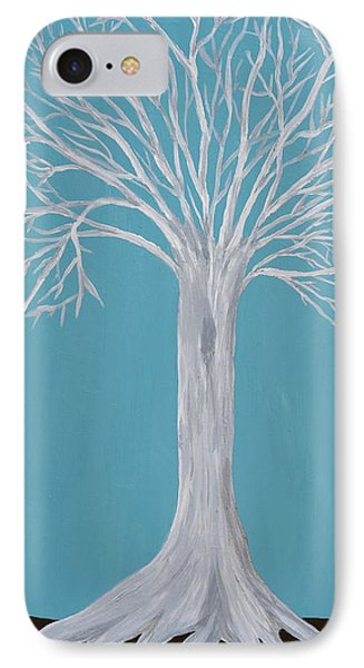 Druid Tree 2 Phone Case by Maura Satchell