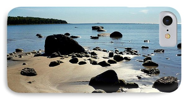 Drummond Shore 2 IPhone Case by Desiree Paquette