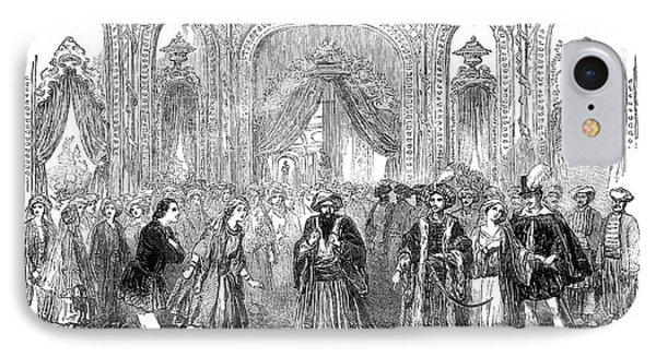 Drury Lane Theatre, 1854 IPhone Case