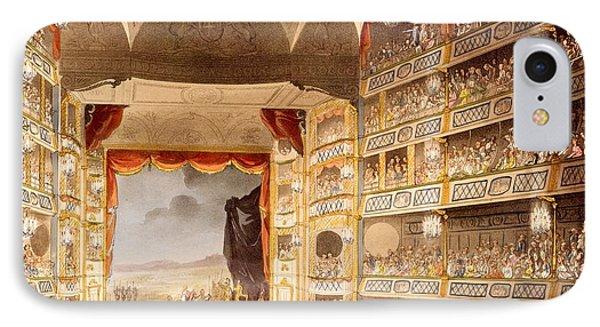 Drury Lane Theatre, Illustration IPhone Case