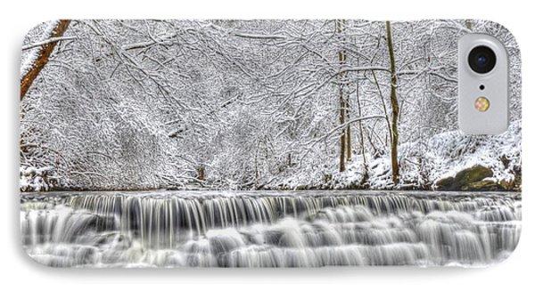 Dry Creek Winter IPhone Case by Mark Bowmer
