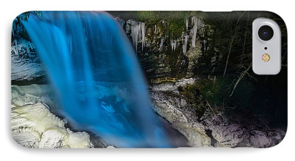 Dry Falls At Night IPhone Case
