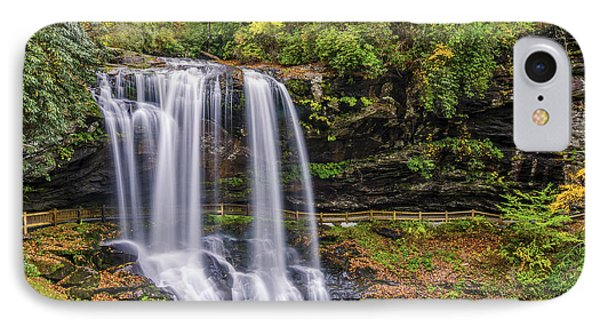 Dry Falls In Fall IPhone Case