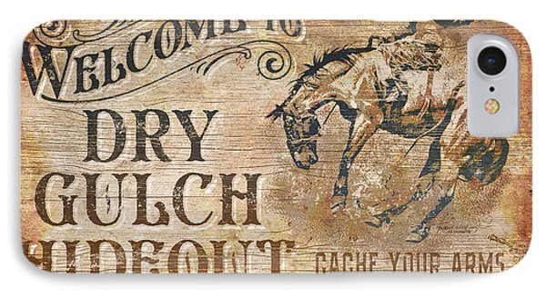 Dry Gulch Hideout IPhone Case by JQ Licensing