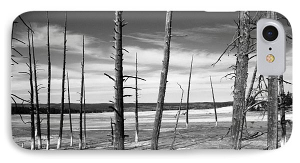 IPhone Case featuring the photograph Dry Lake Bed by Tarey Potter