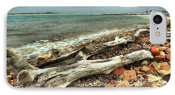 Dry Tortugas Driftwood Phone Case by Adam Jewell